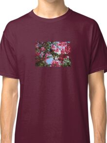 Perfect Pink Bougainvillea In Blossom Classic T-Shirt