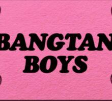 Bangtan Boys Ticket Sticker