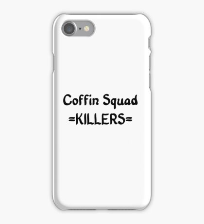 Coffin Squad- Killers iPhone Case/Skin