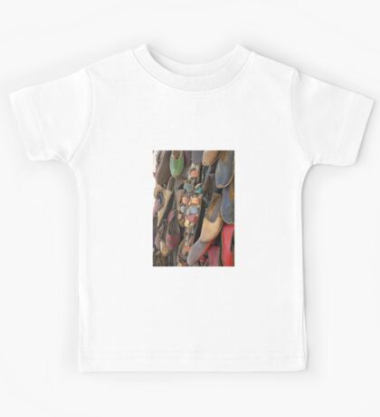 Colourful Hand Crafted  Leather Sandals Kids Tee