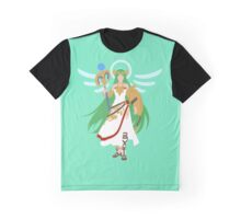 Smash Bros - Palutena Graphic T-Shirt