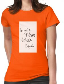 gracie mchone Womens Fitted T-Shirt