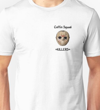 Coffin Squad Killers Hockey Mask Unisex T-Shirt