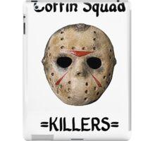 Coffin Squad Killers Hockey Mask iPad Case/Skin