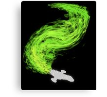 Firefly in Flight Canvas Print