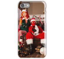 Red Hood/Starfire Xmas iPhone Case/Skin