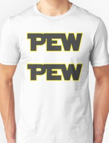 Funny Pew Pew T-shirt T-Shirt