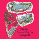 Koala dreams - Shhh… Creativity in progress by JumpingKangaroo