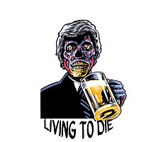 Coffin Squad Living To Die Photographic Print