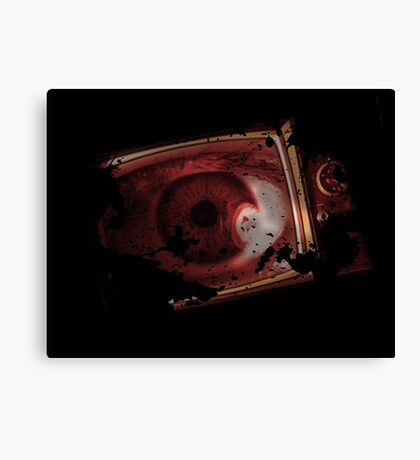 TV eye Canvas Print