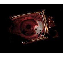 TV eye Photographic Print