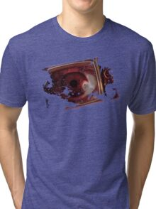 TV eye Tri-blend T-Shirt