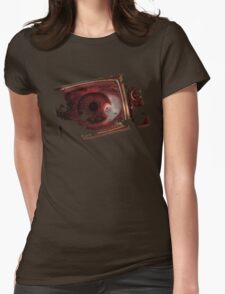 TV eye Womens Fitted T-Shirt