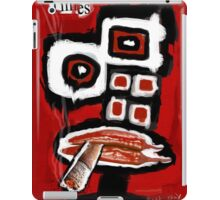 Time Takes a Cigarette iPad Case/Skin