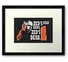 Zed's Dead Framed Print