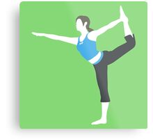 Smash Bros - Wii Fit Trainer Metal Print