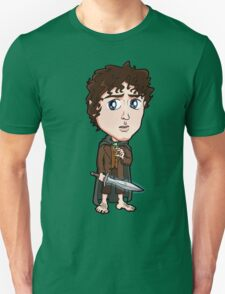 Lord of the Rings - Frodo Baggins Hobbit with Sting T-Shirt