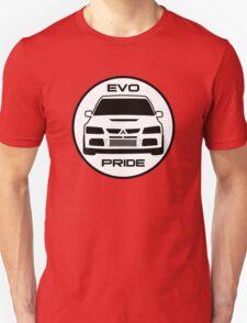 """Evo Pride"" - Mitsubishi Evolution VIII Sticker & Decal for Lancer fans T-Shirt"