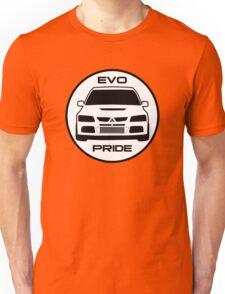 """Evo Pride"" - Mitsubishi Evolution VIII Sticker & Decal for Lancer fans Unisex T-Shirt"