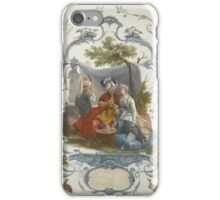 George Fennel Robson, 1788–1838, VIEW OF THE PONTCYSYTTLE AQUEDUCT LLANGOLLEN , NORTH WALES iPhone Case/Skin
