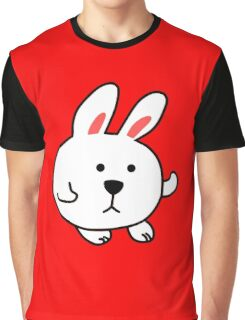 CUTE CARTOON BUNNY Graphic T-Shirt