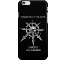Warhammer 40k star of chaos iPhone Case/Skin