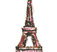 Famous place in France - the Eiffel Tower Sticker