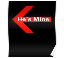 He is Mine Poster