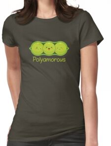 Poly Peas Womens Fitted T-Shirt