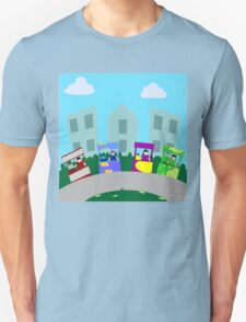 Food cart, street food kiosk in the city T-Shirt
