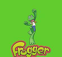 Frogger logo by Mrmasterinferno