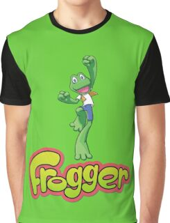 Frogger logo Graphic T-Shirt