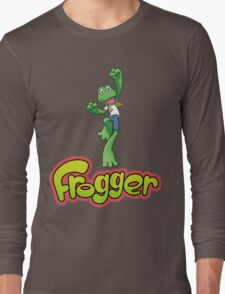 Frogger logo Long Sleeve T-Shirt