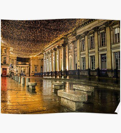 Glasgow Royal Exchange Square Poster