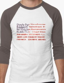 American Blues Legends Men's Baseball ¾ T-Shirt