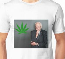 Bernie Sanders Supports Weed Unisex T-Shirt