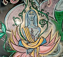 Yogic Ascension (from Chalk Meditation #5 - January 2005) by Infinite Path  Creations