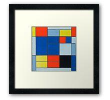 Piet Mondrian, Dutch, Title Composition C Framed Print