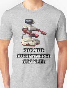 R.O.B. Robotic Overpowered Brawler SSB4 (Smash Bros Parody) T-Shirt