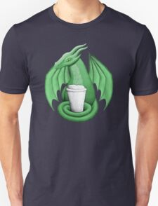 Green Dragon with Latte T-Shirt