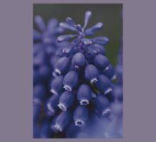 Macro Grape Hyacinth 1 Kids Tee