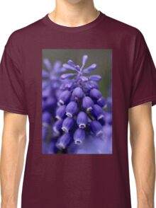 Macro Grape Hyacinth 1 Classic T-Shirt