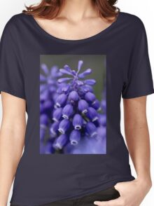 Macro Grape Hyacinth 1 Women's Relaxed Fit T-Shirt
