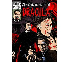 The Satanic Rites of Dracula Photographic Print