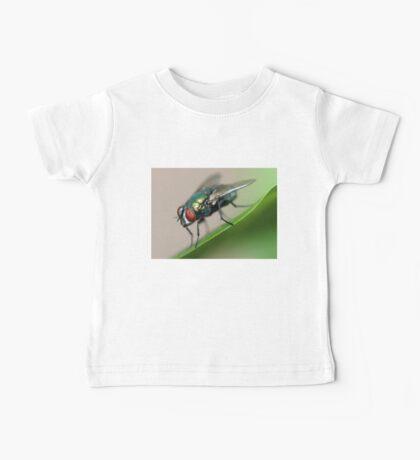 Iridescent Fly Baby Tee