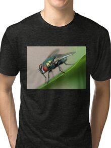 Iridescent Fly Tri-blend T-Shirt