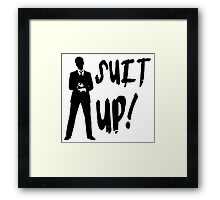 HIMYM - Suit Up! Framed Print