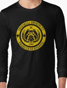 Grayskull Brewing Company - Yellow Long Sleeve T-Shirt