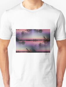 landscape lake at sunset T-Shirt