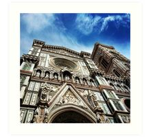 Cathedral Florence Art Print